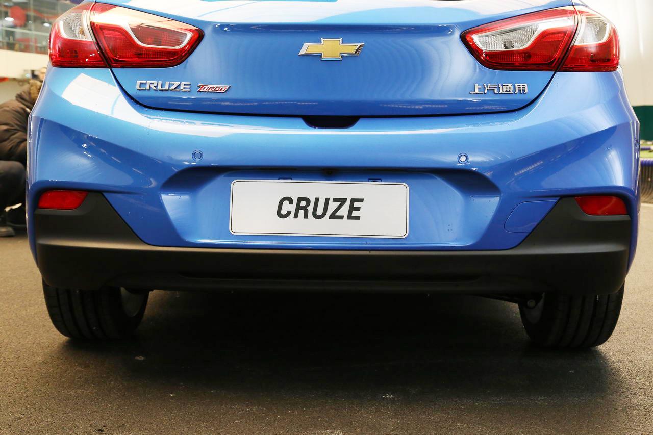 2017款科鲁兹两厢1.4T 双离合领锋版