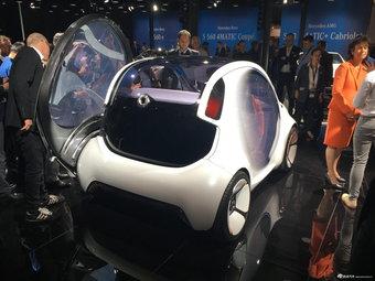 法兰克福车展 smart全新概念车亮相