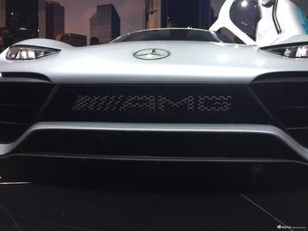 法兰克福车展 实拍奔驰AMG Project ONE