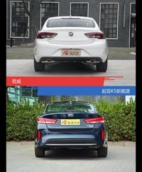 君威和起亚K5新能源风格这么不同 到底该选谁?
