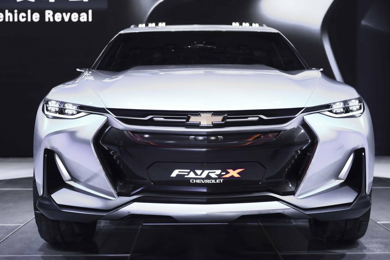 雪弗兰FNR-X全功能运动概念车