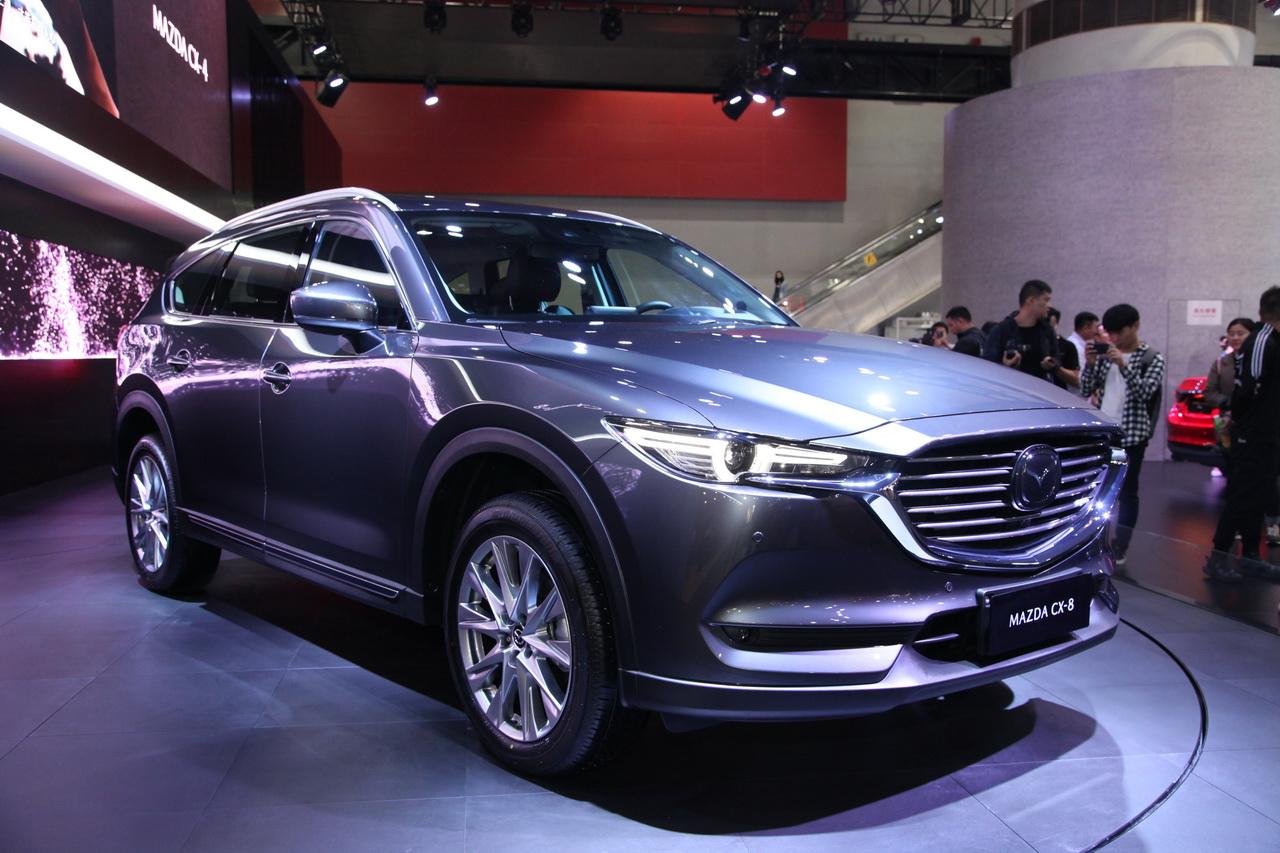 2018广州车展实拍:马自达CX-8