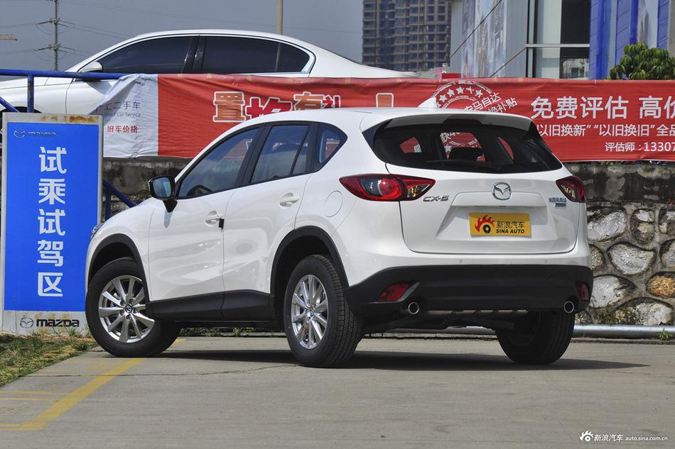 马自达CX-510月报价 北京最高降2.99万