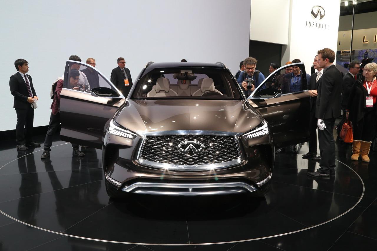 更加贴近量产版 英菲尼迪QX50概念车