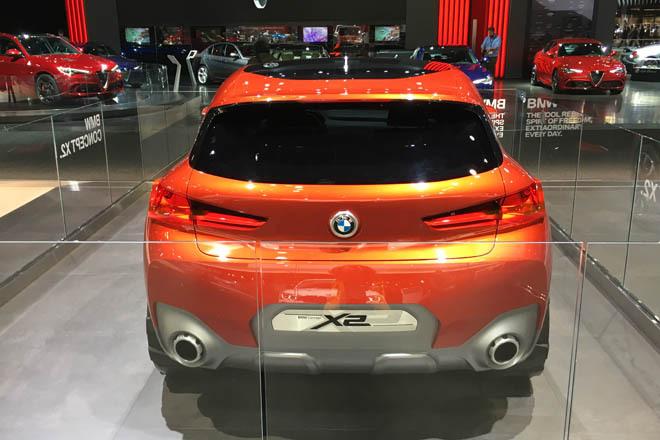 宝马X2概念车