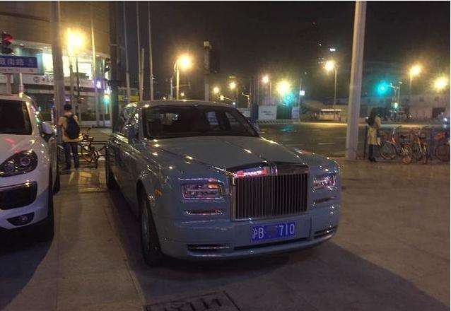 全国唯一的劳斯莱斯现身上海最贵KTV