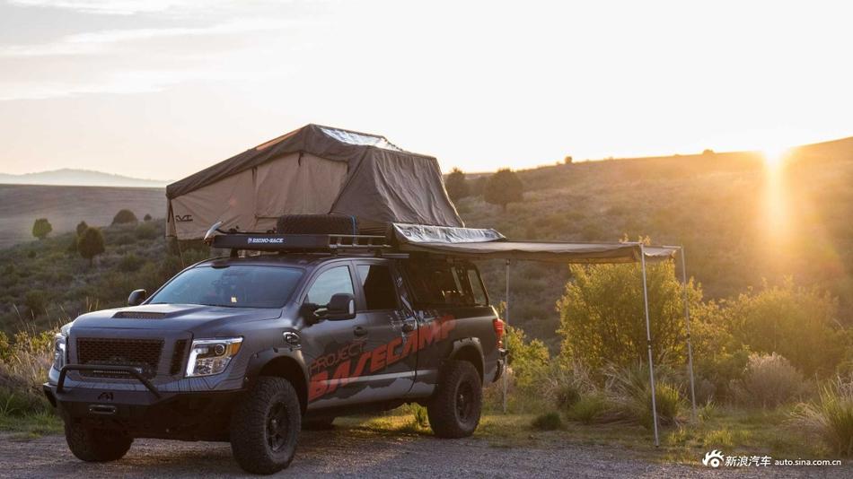 另类改装 日产推出Titan XD皮卡露营概念车