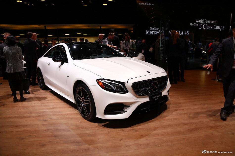 车可以不惊艳 但必须得够骚 奔驰全新E级 Coupe