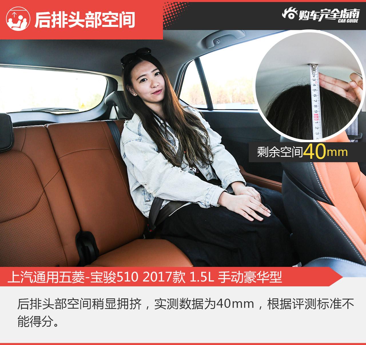 上汽通用五菱-宝骏510 2017款 1.5L 手动豪华型