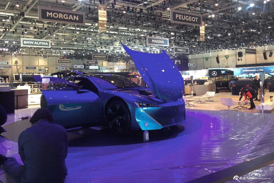 日内瓦车展探馆:标致Instinct概念车