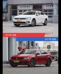 全面升级实力大增 凌渡新旧款实车对比