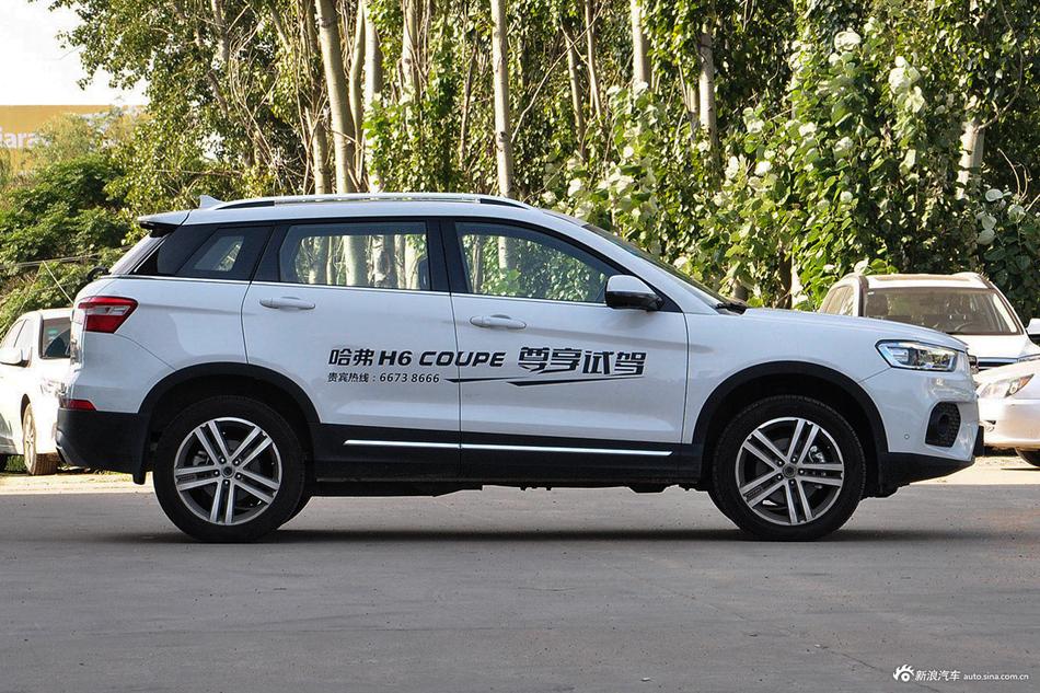 细节用心,颜值更高,哈弗H6 Coupe新春促销10.70万起