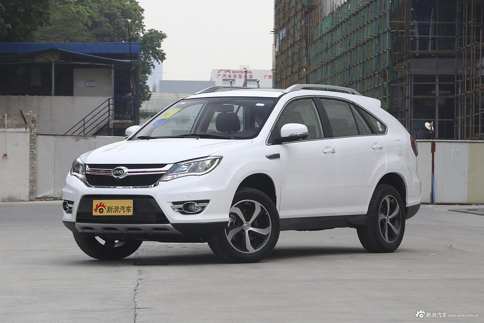 比亚迪S7北京9.22万起  新车选它不会错