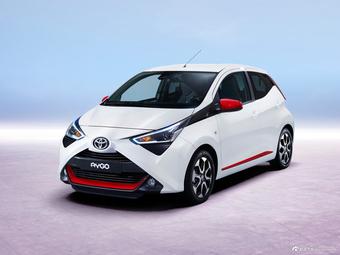 丰田新款Aygo官图发布 日内瓦车展亮相