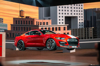"实拍福特Mustang Shelby GT500 最强""野马"""