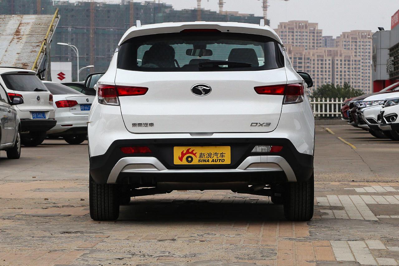 2018款东南DX3 SRG 1.5T手动尊贵型