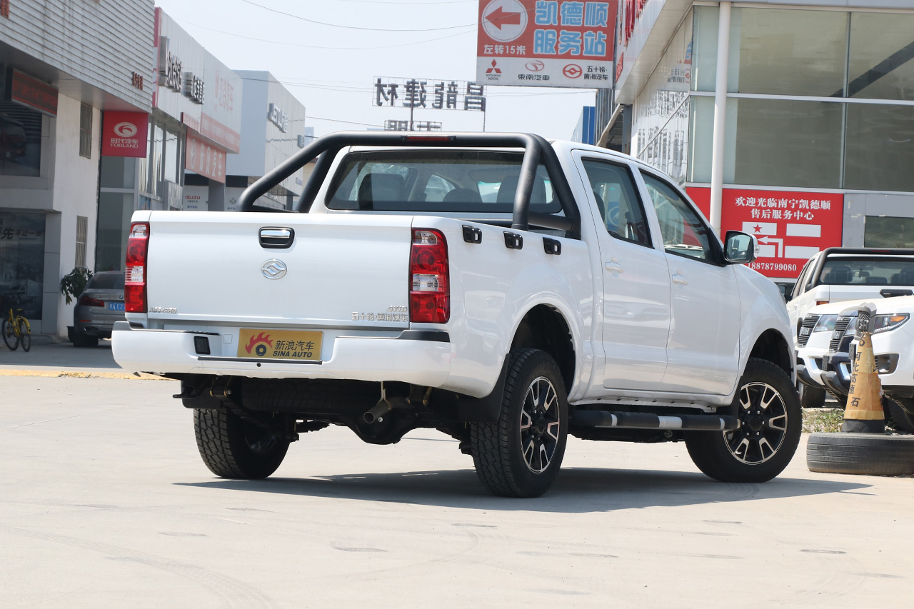 2018款黄海N1S 2.8T手动柴油加长四驱运动版497