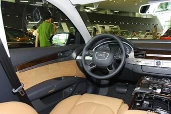 2014款奥迪A8L 45TFSI quattro豪华型到店实拍