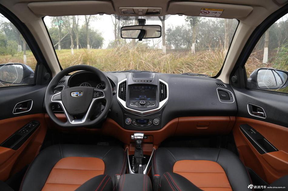 2016款吉利金刚三厢1.5L自动尊贵型 国V