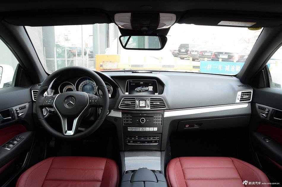 2014款奔驰E260 2.0T自动敞篷版