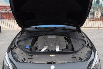 奔驰S级Coupe底盘图