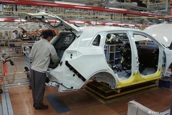 北汽威旺首款SUV S50下线仪式