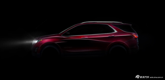 雪佛兰全球战略中型SUV 将亮相广州车展