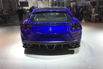 广州车展探馆实拍法拉利GTC4Lusso