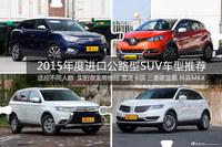 2015年度进口公路型SUV