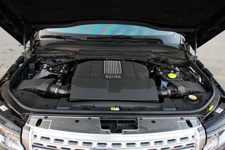2015款揽胜5.0 V8 SC AB 巅峰创世加长版到店实拍