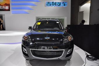 2014成都车展SUV实拍:吉利GX9