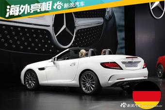 2016北美车展:新奔驰SLC/AMG SLC43亮相