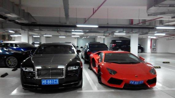 王思聪车库豪车云集 车牌为什么带88和3呢