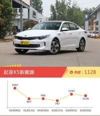 一周韩系车型热度排行出炉,起亚K5新能源夺冠