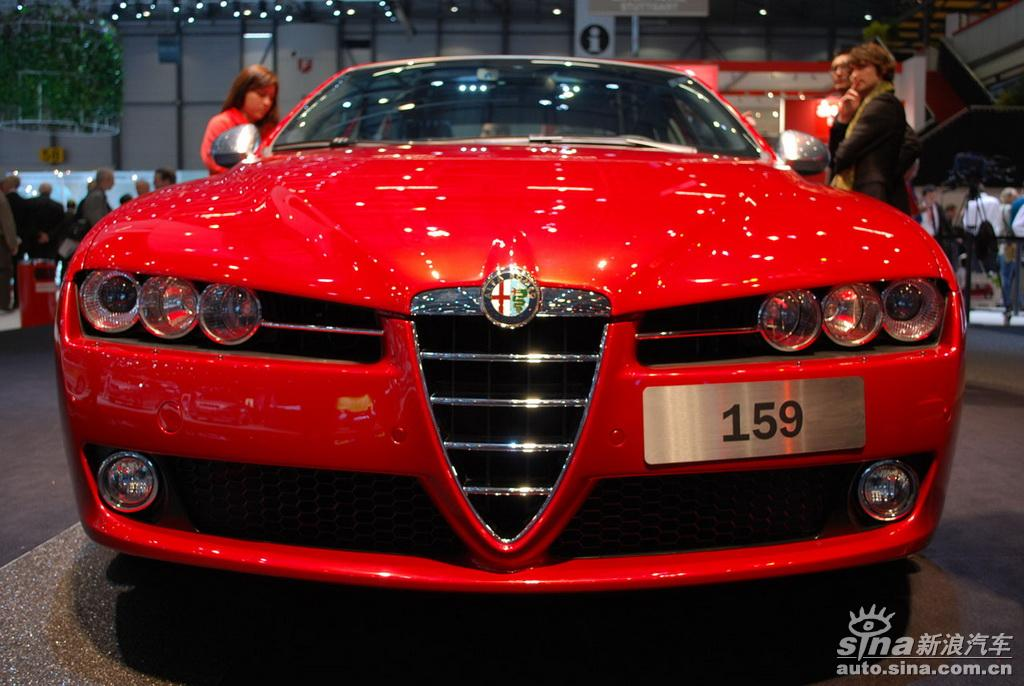 阿尔法罗密欧159 阿尔法罗密欧159图片 汽车图库 新浪汽车 新浪网