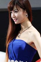 2013西安车展美女车模