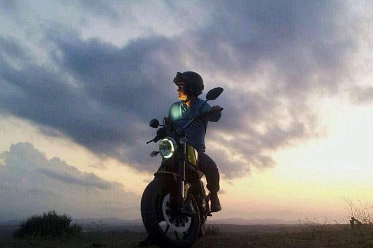 纪念装_复古摩托车
