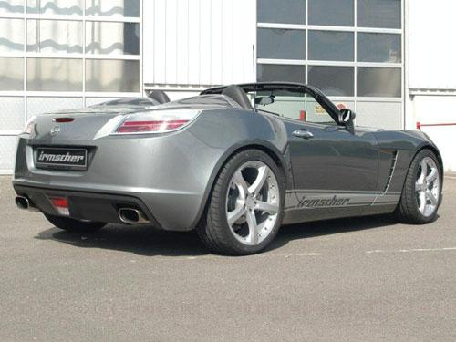scher发布改装版欧宝GT跑车 动力大幅提升高清图片
