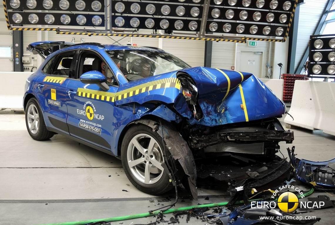 保时捷Macan获Euro-NCAP五星安全评级
