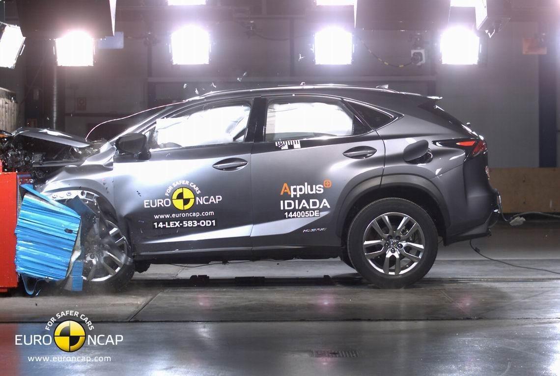 雷克萨斯NX获Euro-NCAP五星安全评级