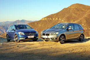 后到先来 BMW 2系运动旅行车vs奔驰B级
