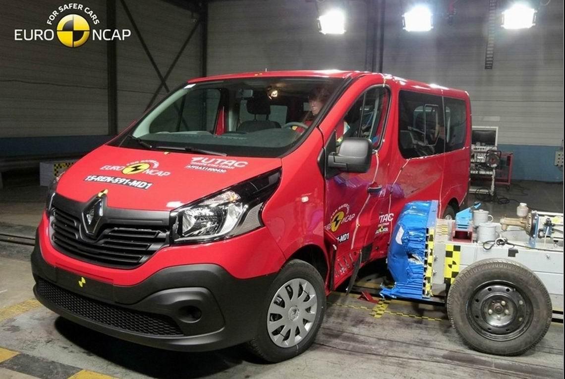 雷诺塔菲克获Euro-NCAP三星安全评级