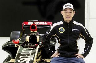 方骏宇签约F1路特斯车队 成预备车手