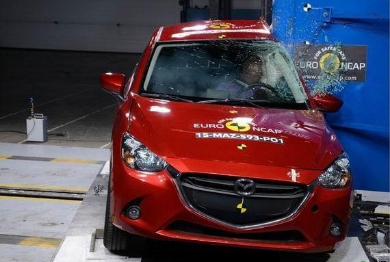 新一代马自达2获Euro-NCAP四星安全评级