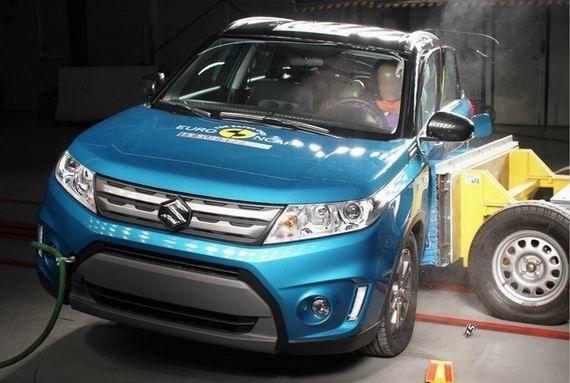 铃木维特拉获Euro-NCAP五星安全评级