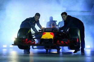 F1红牛车队发布2016赛季涂装 争分夺秒备战