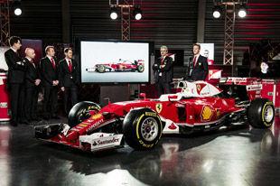 复古涂装 法拉利发布F1 2016年新车SF16-H