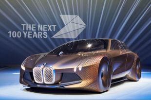 未来的愿景 BMW VISION NEXT 100概念车