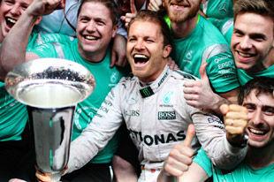 F1历史数据暗示罗斯博格将2016封王