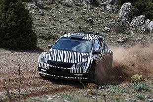 玩转WRC 斯柯达提前发布晶锐R5
